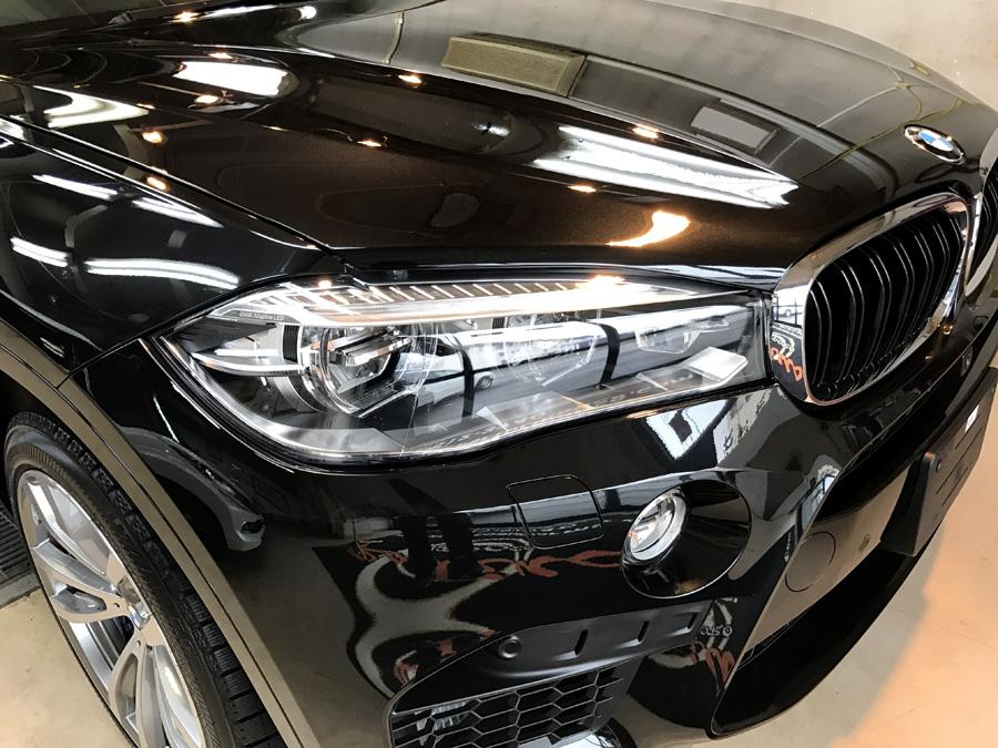 BMW・X6Mのガラスコーティング完成いたしました!