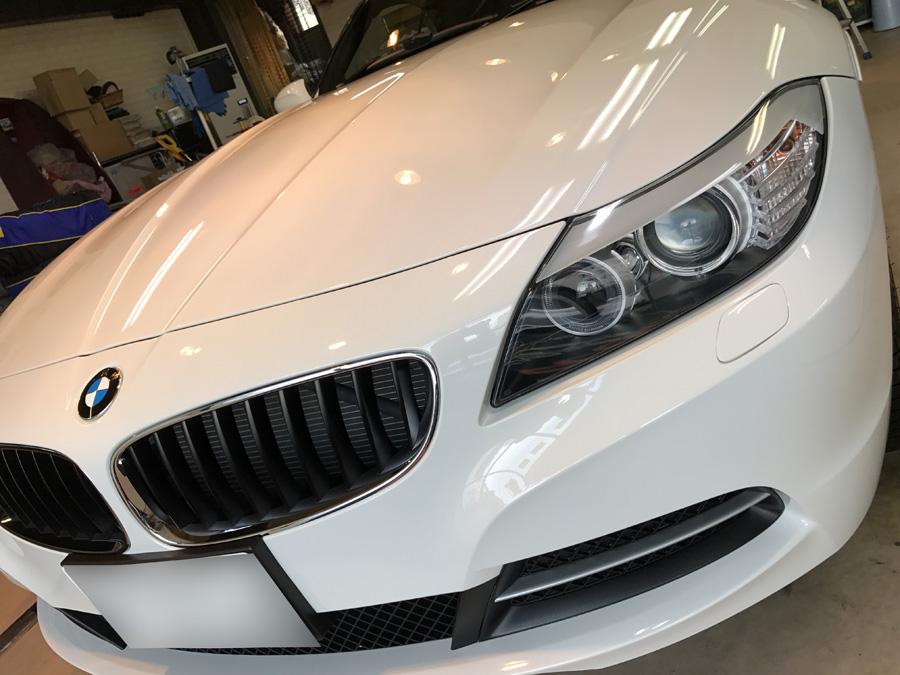 BMW・Z4のガラスコーティング完成いたしました!