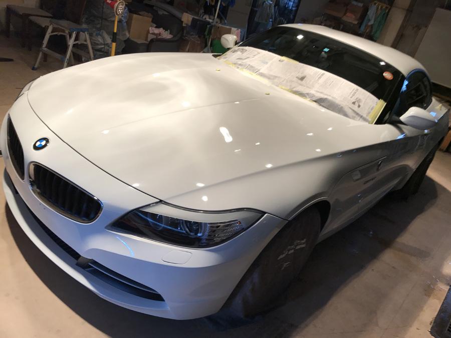BMW・Z4ご入庫いただきました!