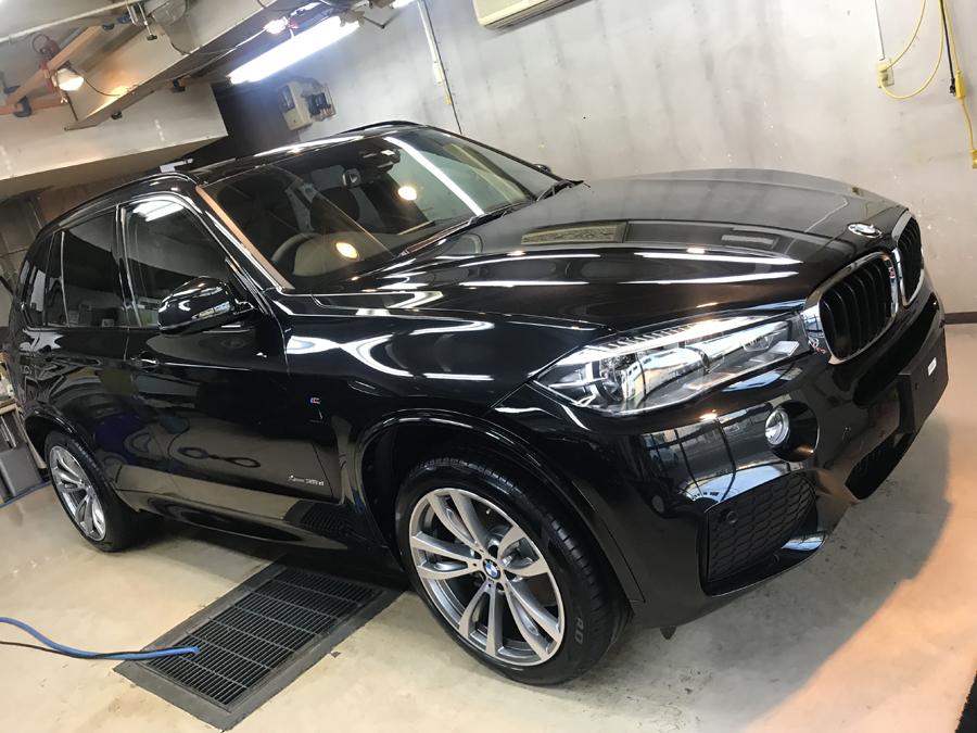 BMW・X5のガラスコーティング完成いたしました!